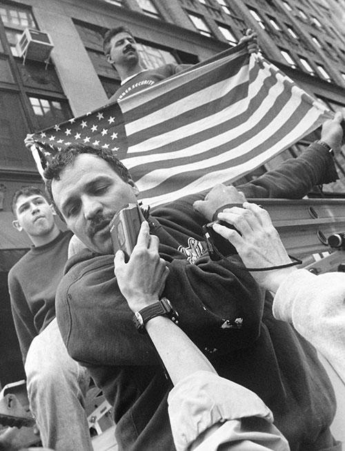 Iraq War Protest, NYC, 2003