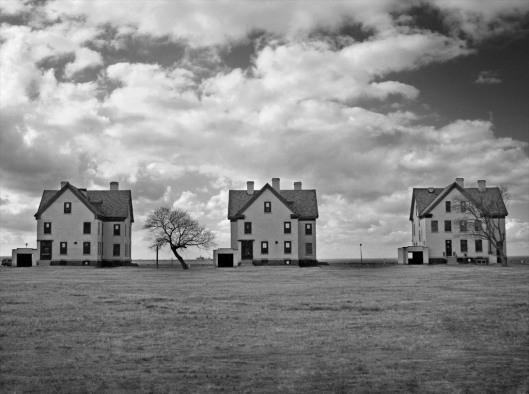 Three Buildings in Sandy Hook